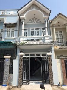Nhà dĩ an giá rẻ cần bán gấp gần ngã ba cây lơn đúc 1 lầu .