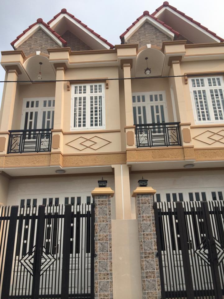 Bán nhà dĩ an xây 1 lầu nằm cách đường Trần Hưng Đạo 50m