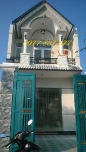 Nhà dĩ  an cần bán nằm trong khu trung tâm thị dĩ an -bình dương