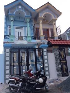 Bán nhà dĩ an bình dương gần chợ Tân Long đường thông buôn bán tốt.
