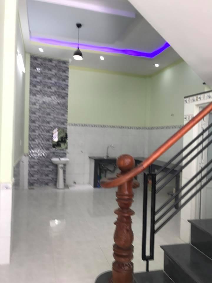 Cần bán gấp căn nhà 1 lầu ngay đường Mạch Thị Liếu Dĩ An giá rẻ , sổ hồng riêng.