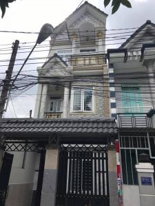 Bán nhà cách chợ dĩ an1 - 500m ,  2 lầu nằm trên đường Trần Quốc Toản.