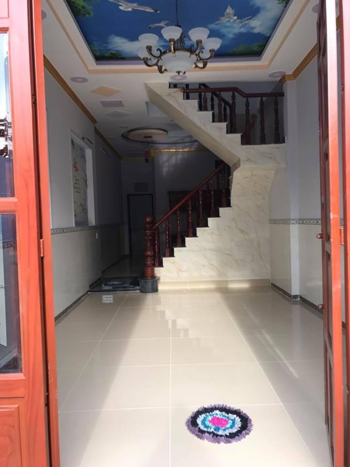 Nhà bán gần DT743 Dĩ An thiết kế 1 lầu 1 trệt sang trọng giá rẻ (nhà đã hoàn công )